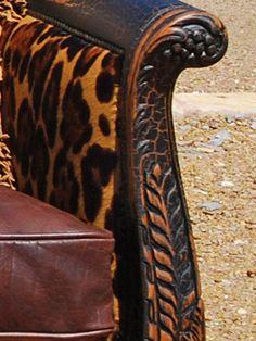 Rawhide | Leopard Sofa