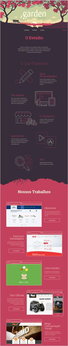 Unique Web Design, O Estudio #WebDesign #Design (http://www.pinterest.com/aldenchong/)