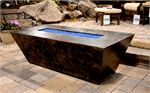 R&R Living contemporary gas fire pits