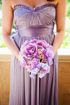 Purple bridesmaids bouquet | photography by http://www.adelineandgrace.com/