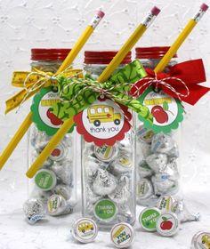 Tons of teacher gift ideas.