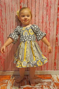 Boutique Girls Party Dress Birthday Dress by divagirlboutique, $65.50