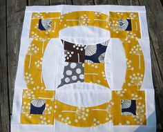 New Block Design by Sew Kind of Wonderful, via Flickr