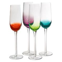 Fizzy Champagne Flutes by Artland