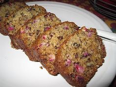 Cranberry-Pineapple-Nut Bread,  from Carrie cranberri pineappl, pineappl bread, food idea, breads, cranberrypineapplenut bread, bread form, cozi cottag