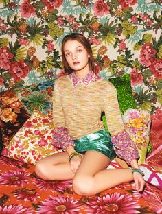"""Julia Belakova in """"Pretty Mixed Up"""" by Tung Walsh for ASOS Magazine, April 2012."""