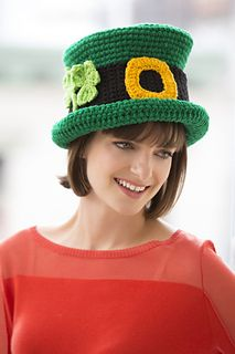 St. Patrick's Day Chapeau ~ free crochet pattern ᛡ