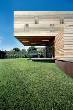 The Trojan House, Melbourne, AU by Jackson Clements Burrows Architects.