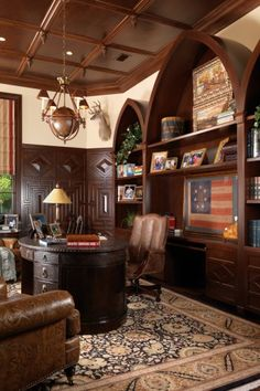 Home office on pinterest 44 pins Home office den design ideas