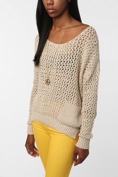 Perfect spring sweater!