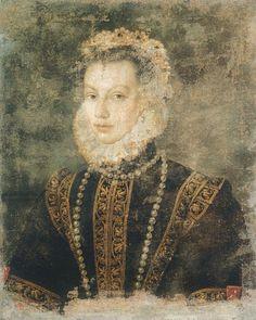 Sofonisba Anguissola,Isabel von Valois, c. 1599
