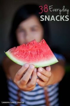 Healthy #snacks that are easy and quick, no cooking/baking required. Great lunch ideas to help fill those lunch boxes.