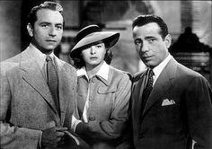 Casablanca (1942): directed by Michael Curtiz, starring Humphrey Bogard, Ingrid Bergman and Paul Heinreid.