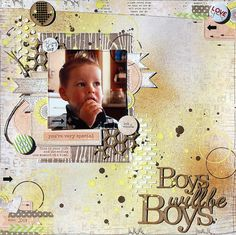 Boys will be boys - DT 7 Dots Studio