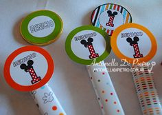 Golosinas, sweet, candy, favors, custom, personalizar golosinas. Mickey Mouse, Party fiesta, http://antonelladipietro.com.ar/blog/2013/05/cumple-mickey/