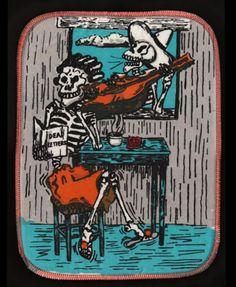 Serenade with Trashy Novel & Cigarette potholder