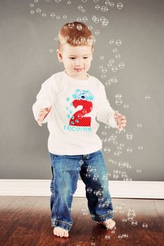 Boys STS Blues Clues Birthday Number Onesie or Shirt