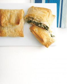 Spinach-and-Turkey Hand Pies Recipe
