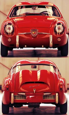 1956 Fiat Abarth 750 GT 'Double Bubble' Zagato... <3