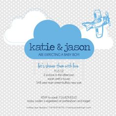 Baby Shower Invitation by LindsayJayeDesign