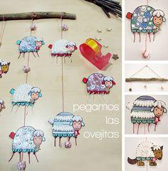 con niño, decoracion niño, manualidad con, con algodón, manualidad primaria, art infantil