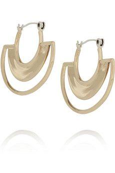 Pamela Love Sunset gold-plated earrings | NET-A-PORTER
