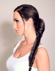 All Products | Black Clip In Hairpieces Fishtail Plait | Wonderland Wigs