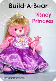 Build-A-Bear Now Has Disney Princesses ~ Giveaway
