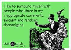 Especially random shenanigans