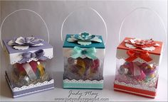 Christmas ornament gift boxes