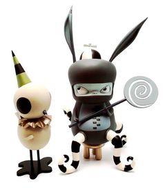 Kathie Olivas Art toys ♥ lovesgraphic art toys collection!