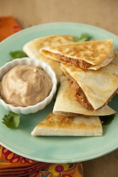 South Meets West Quesadillas #pauladeen