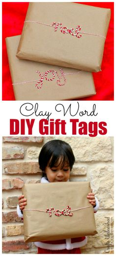 DIY Gift Tags: Candy