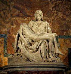 michelangelo's pieta - st. peter's, rome (i've seen this).