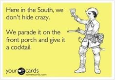 the south