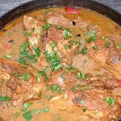 Pomegranate Stew with Chicken (Khoresh Fesenjan)