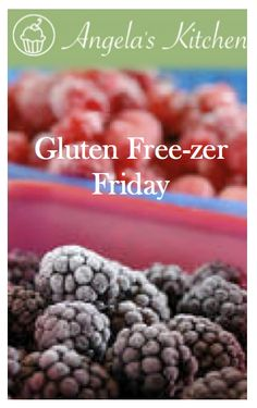 Gluten Free-zer Friday--- a BUNCH of recipes for gluten free and dairy free freezer meals