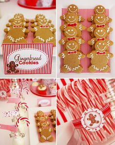 Christmas candy land party ideas.