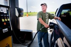 Can a gas station charge for providing air for your tires?