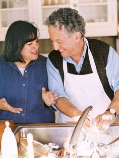 Ina garten (barefoot contessa) and her adorable husband Jeffrey. I mean.