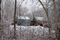 Encased Series Ice Storm 2014 Back of Barns Photography by Kat