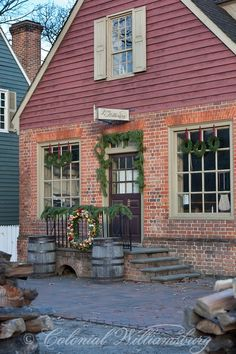 Colonial Williamsburg holiday...