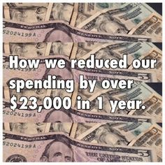 Born Free: How we reduced our spending by $23,537.00 in a year. (specific stepsand calculations included)