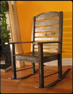 Heavy Metal Rocking Chair by RiggoDesign, via Flickr