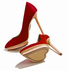 Red Heart Heels for a Red Valentine Wedding #DonnaMorganEngaged