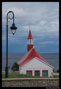 Canada's oldest wooden church, Tadoussac, Quebec