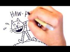 """""""Reading Makes Cats Jealous"""" PSA by Dav Pilkey - YouTube"""
