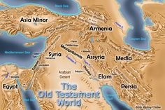 Map of the Old Testament World