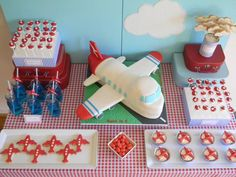 Airplane party theme