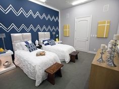 Design Star Season 7 Cast House : Guest Bedroom Two